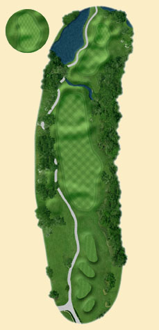 Overview of hole 1