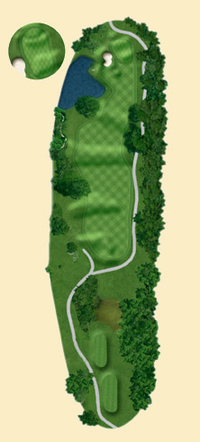 Overview of hole 10