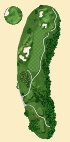 Overview of hole 12