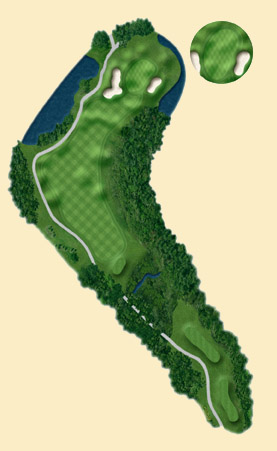 Overview of hole 15