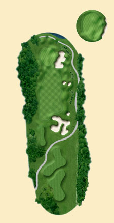 Overview of hole 17