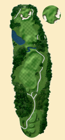 Overview of hole 2