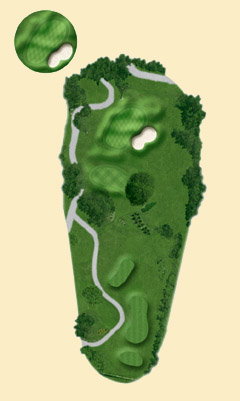 Overview of hole 3