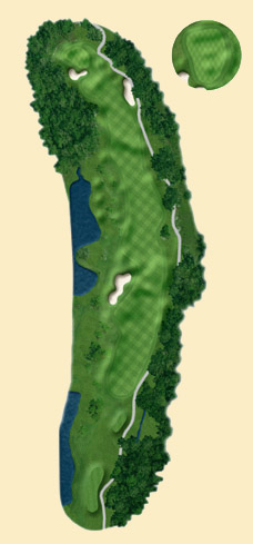 Overview of hole 6