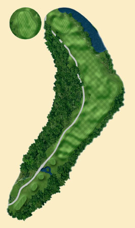 Overview of hole 7